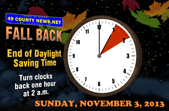 Daylight Savings End-Fall Back