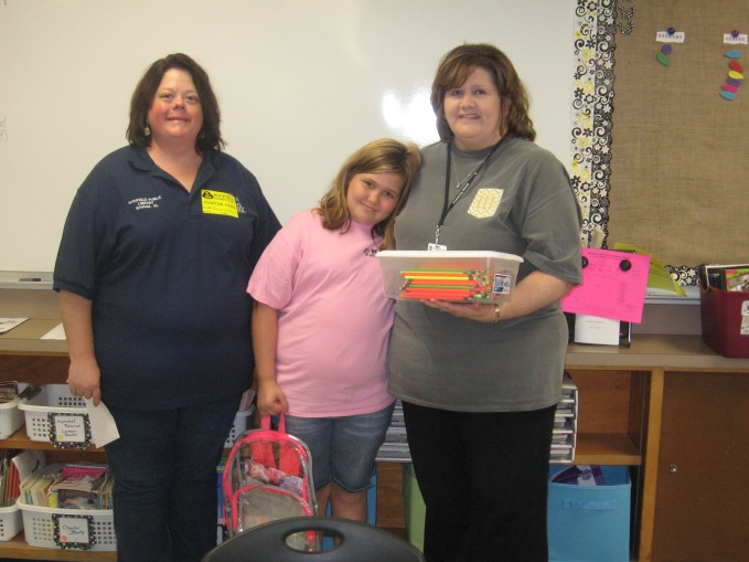 Guess How Many Pencils Winner Kailee Johnson, 3rd Grade Guess 241 pencils, jar amount 240 – only 1 over Mrs. White received 240 pencils for her class